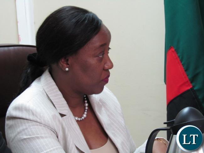 Africa Development Bank (ADB) Country Manager Mary Manneko Monyau