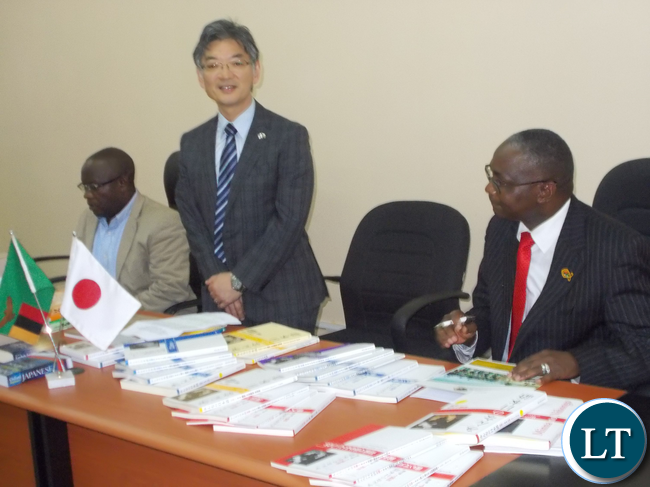 Japanese Ambassador to Zambia Hidenobu Sobashima