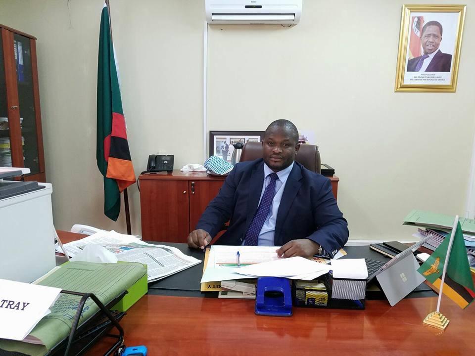 National Planning and Development Minister Alexander Chiteme