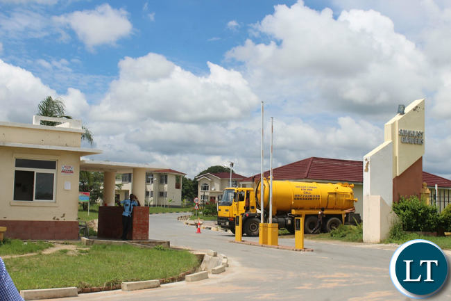 The Silverest Housing Complex in Chongwe