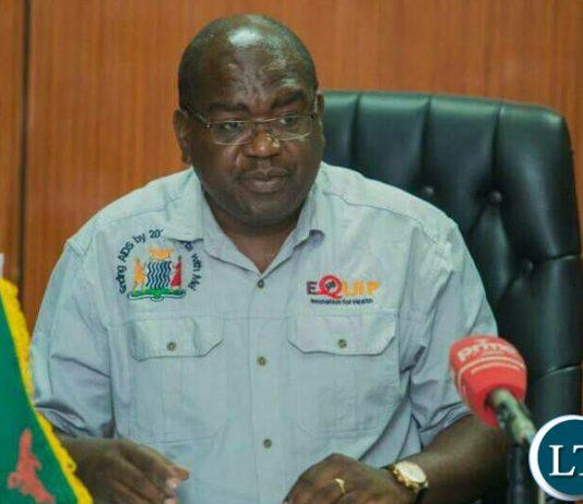 Health Minister Dr Chitalu Chilufya