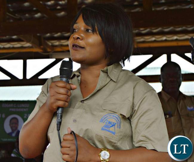 Minister of Fisheries and Livestock, Kampamba Mulenga