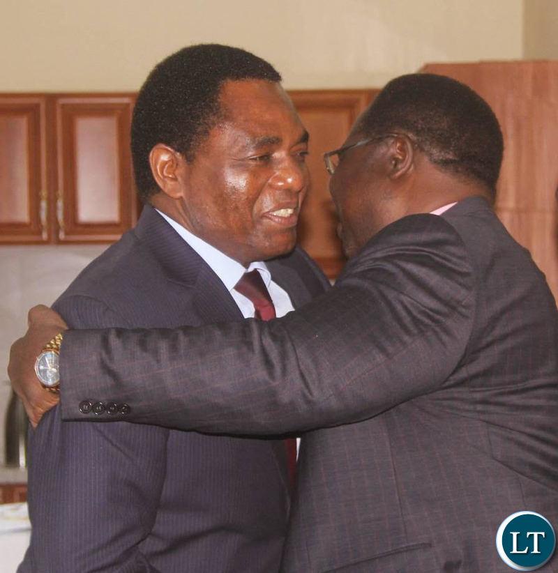 Bishop Imakando embraces HH