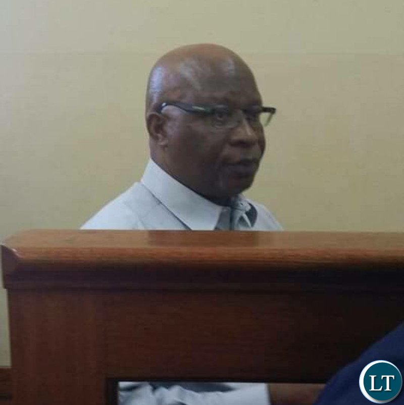 Dr Nevers Mumba in court before he was convicted and sentenced