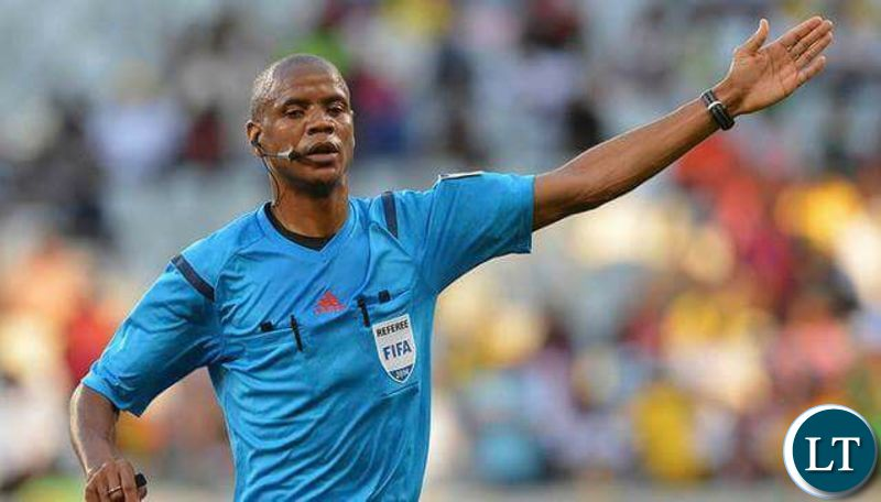 Zambian referee Jan Sikazwe