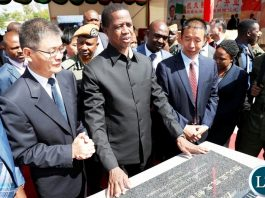 President Edgar Lungu official opens Kingphar Zambia factory at Lusaka East Multi facility Economic zone