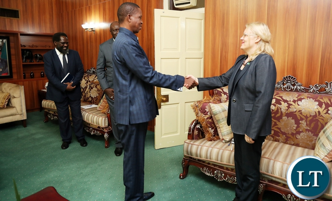 Zambia hhs accusation of uns janet rogan of helping pf to steal president edgar lungu with united nations coordinator in zambia who is also united nations development programme undp resident representative ms janet publicscrutiny Image collections