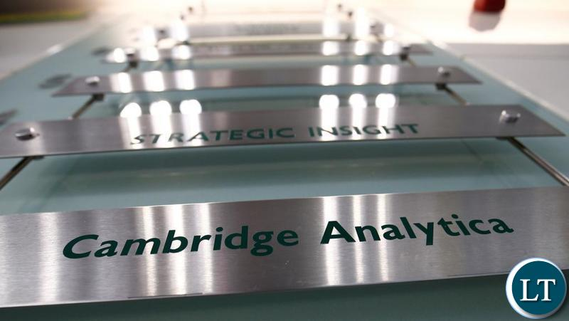 Cambridge Analytica Offices in Central London