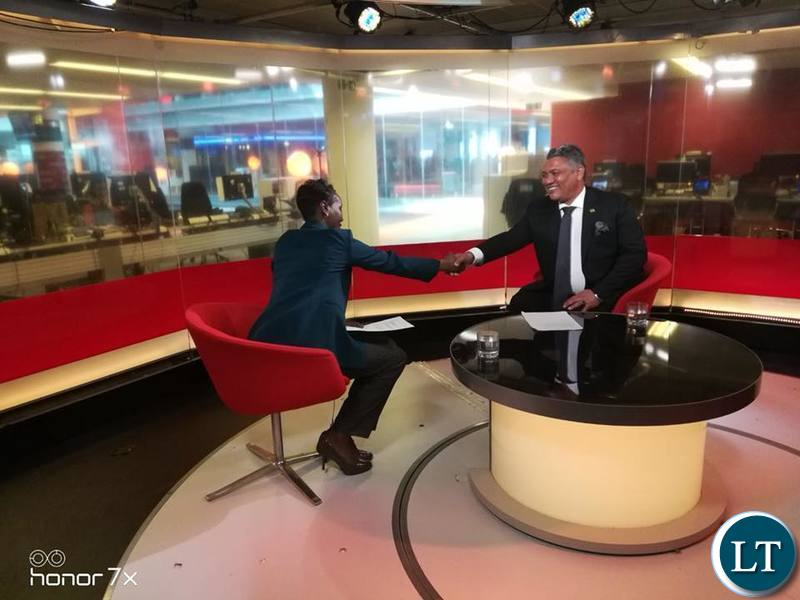 Given Lubinda after the interview on the BBC World Service