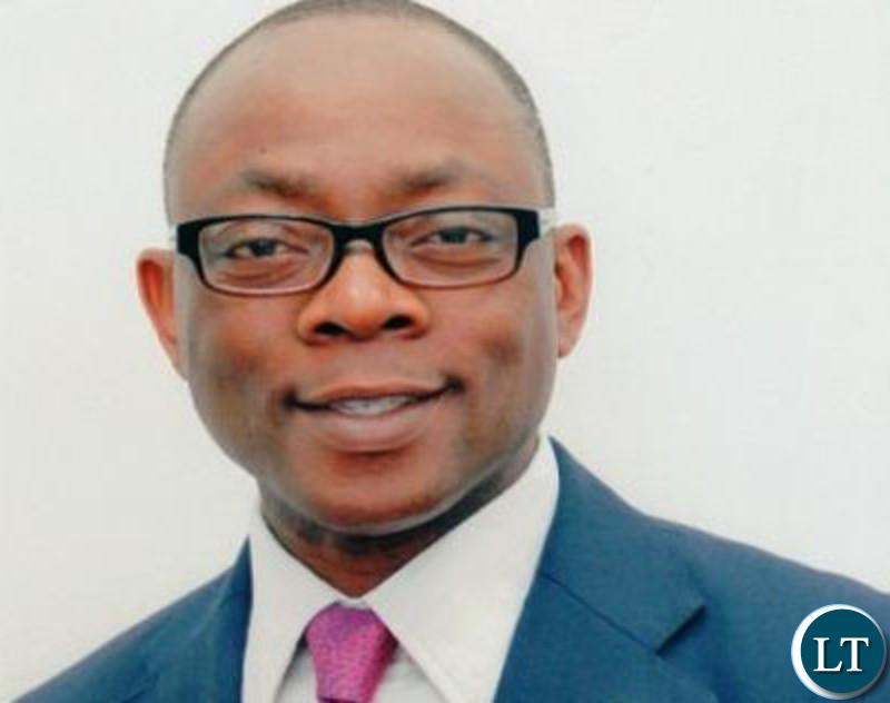 Ecobank  Zambia's   Managing   Director Kola  Adeleke