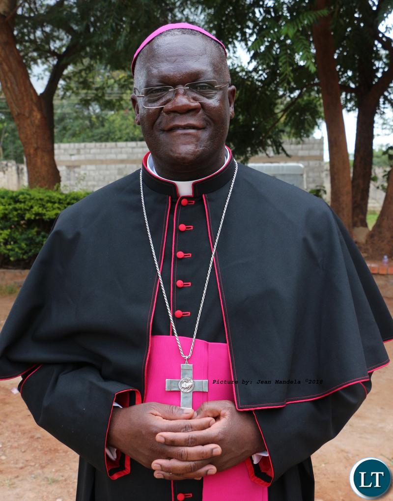 Bishop Dr Alick Banda.