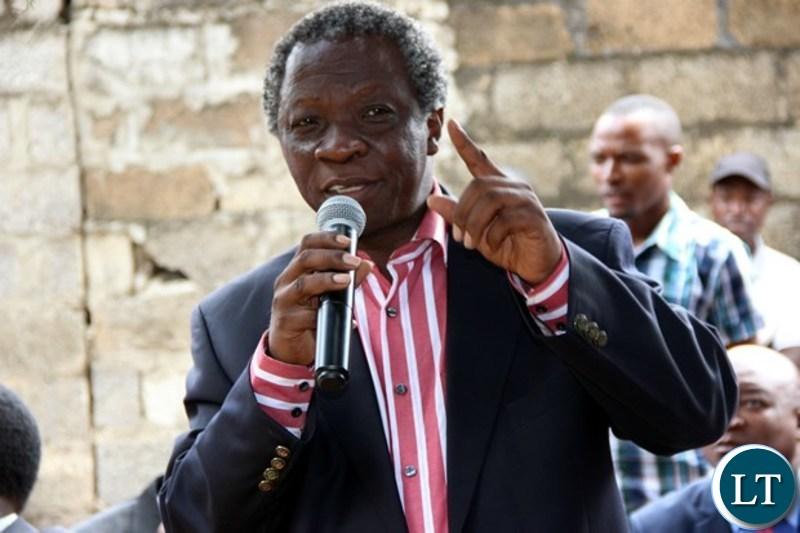 People's Party leader Mike Mulongoti