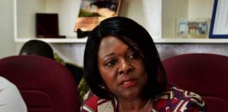 Finance Minister Margaret Mwanakatwe