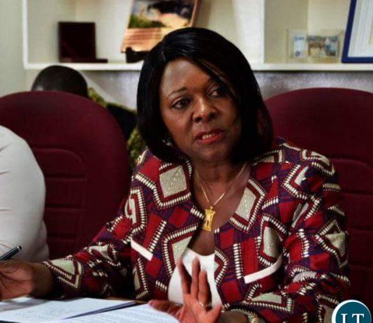 Finance Minister Margaret Mwanakatwe