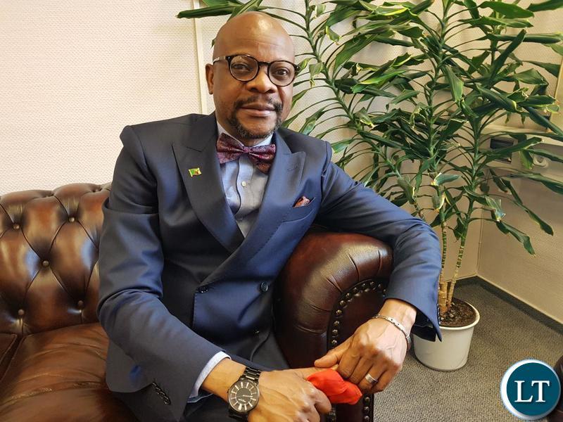 Zambia's ambassador to Germany Anthony Mukwita