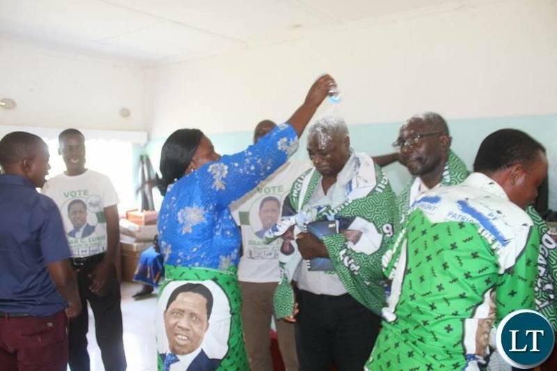 Defection of Forum for Democratic Development  ( FDD) Copperbelt province trustee Mandih Musonda