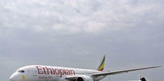 An Ethiopian Airlines Dreamliner jet. Photographer-Jenny Vaughan-AFP via Getty Images