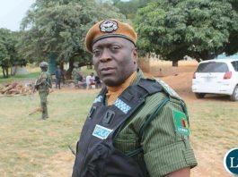 Inspector General of Police Kakoma Kanganja