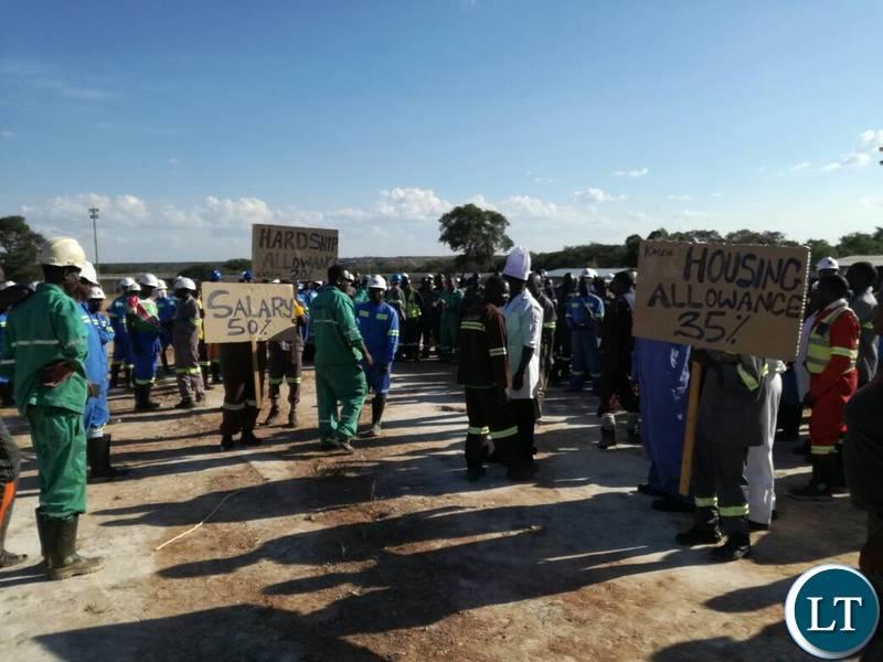 Kagem protests
