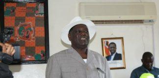North Western Province Permanent Secretary Ephraim Mateyo