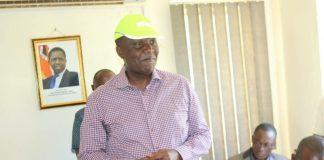 Works and Supply Minister Felix Mutati