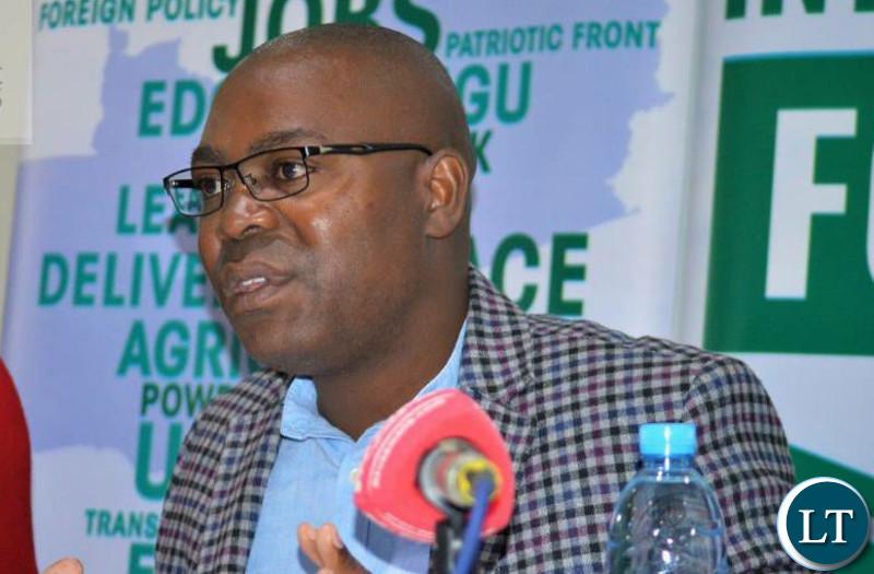 Lunte Member of Parliament Mutotwe Kafwaya