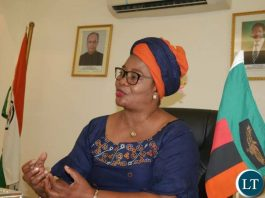 Zambian High Commissioner to India Judith Kapijimpanga