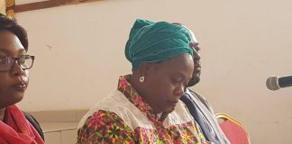 Margaret Chimanse, the Manager Public Relations at Electoral Commission of Zambia
