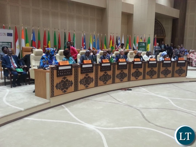 Vice President At The 31st Heads Of States And Government Summit In Nouakchott,Mauritania