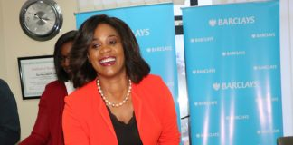 arclays Bank Zambia Managing Director, Mizinga Melu