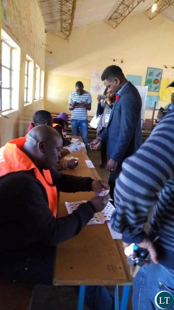 Mundia Mukubesa voting