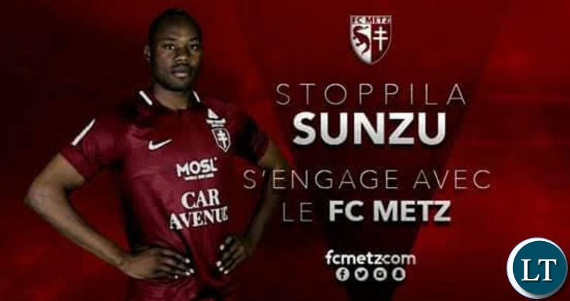 Sunzu's FC Metz welcome poster