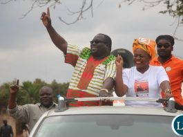 Kambwili and Saboi campaigning in Chawama