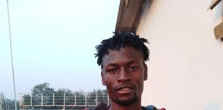 "Kitwe United star defender Levy ""Successor"" Makungu"