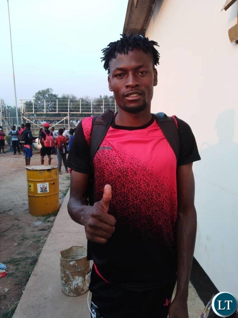 """Kitwe United star defender Levy """"Successor"""" Makungu"""