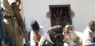 The two Kapiri gay men being taken away after making court appearance