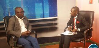 YALI President Andrew Ntewewe (L) on Prime TV