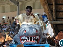 he Ukusefya Pa Ng'wena traditional ceremony