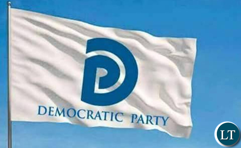 The Democratic Party Flag