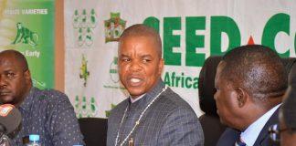 Central Province Minister Sydney Mushanga