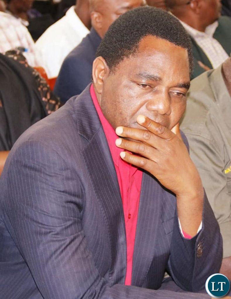 HH attending the burial of late Mangango MP Naluwa Mweene