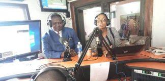 MMD Chairperson for International Relations Joyce Musenge and National Secretary Raphael Nakacinda