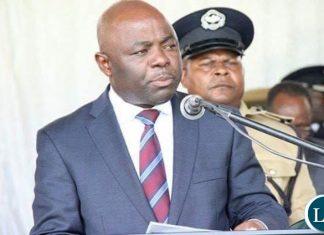Minister of Home Affairs Stephen Kampyongo