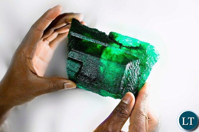 Rare 5,655 carat Emerald discovered in Zambia