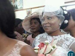 Minister of livestock and Fisheries Kampamba Mulenga at her wedding Minister of livestock and Fisheries Kampamba Mulenga at her wedding