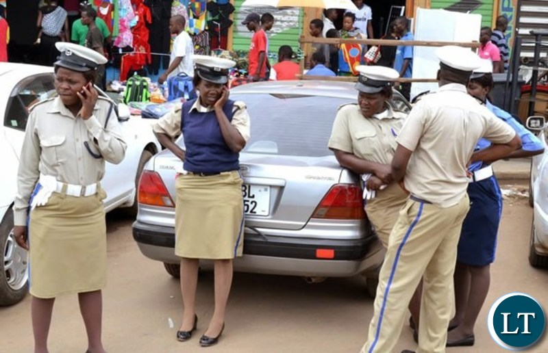 Zambia Police Traffic Officers