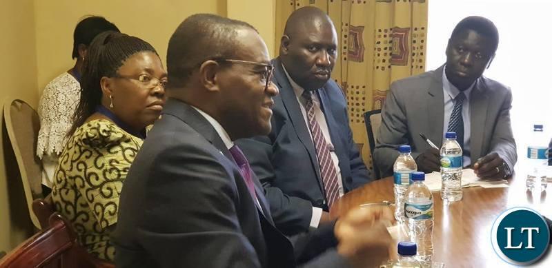 World Bank Country Director in charge of Botswana, Lesotho, Namibia, Eswatini, Zambia and Zimbabwe, Mr. Paul Noumba Um