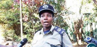 Copperbelt Police Commissioner Charity Katanga