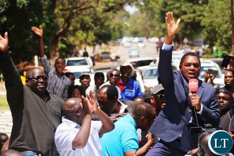 HH waves to scores of UPND sympathizers in Ndola