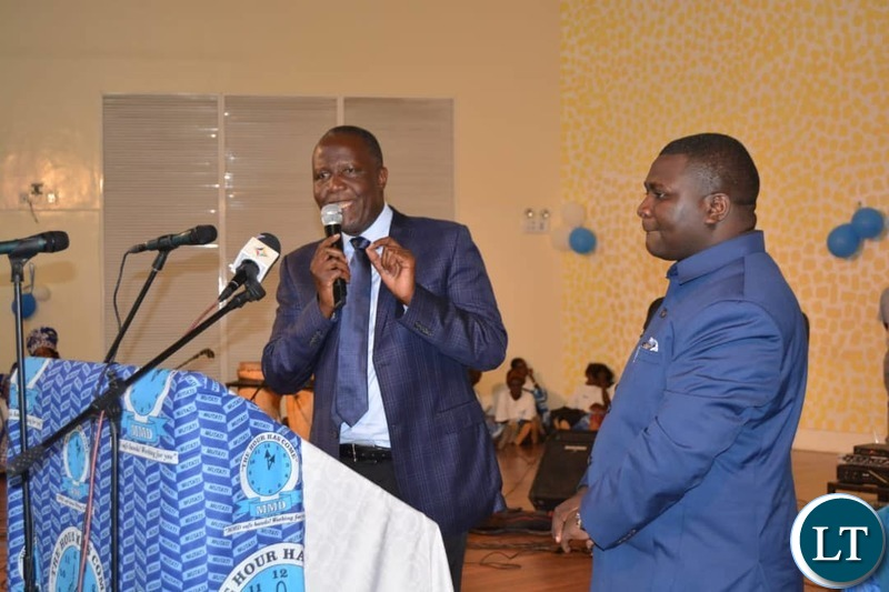 Felix Mutati at the launch of the card renewal for Lusaka Province